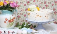 Tojáslikör-lime torta