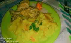 Petrezselymes csirke házi tesztával