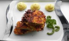 Sárgarépa bundába sült sertéshús