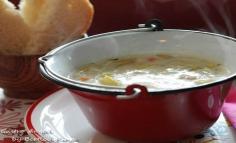 Tárkonyos, habart zöldpaszuly leves