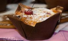 Szedres meggyes muffin