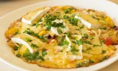 Camembertes sonkás omlett