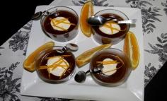 Narancsos-csokolédés desszert