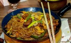 Chicken chow mein...az az a kinai sült tészta
