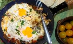 Serpenyős reggeli