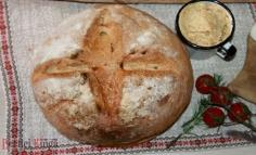 Diós tepertős kenyér