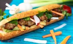 Banh Mi vietnámi szendvics