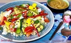 Couscous saláta cukkinivel