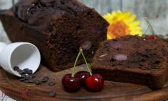 Csokoládés cseresznyés sütemény