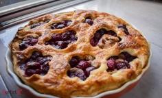 Gesztenyés cseresznyés pite
