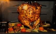 Barnasörös gőzben sült-párolt csirke