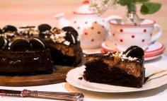 Csokoládés brownie sajtorta