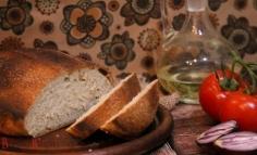 Olivaolajas sós kenyér
