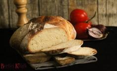 Fehér kenyér rizslisztes kovásszal