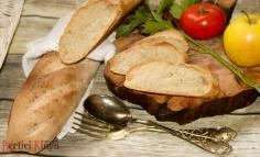 Kovászos rusztikus baguette