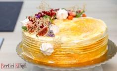 Sütőtökös torta vanilíás narancskrémmel