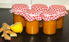 Gyömbéres narancsos sütőtök dzsem